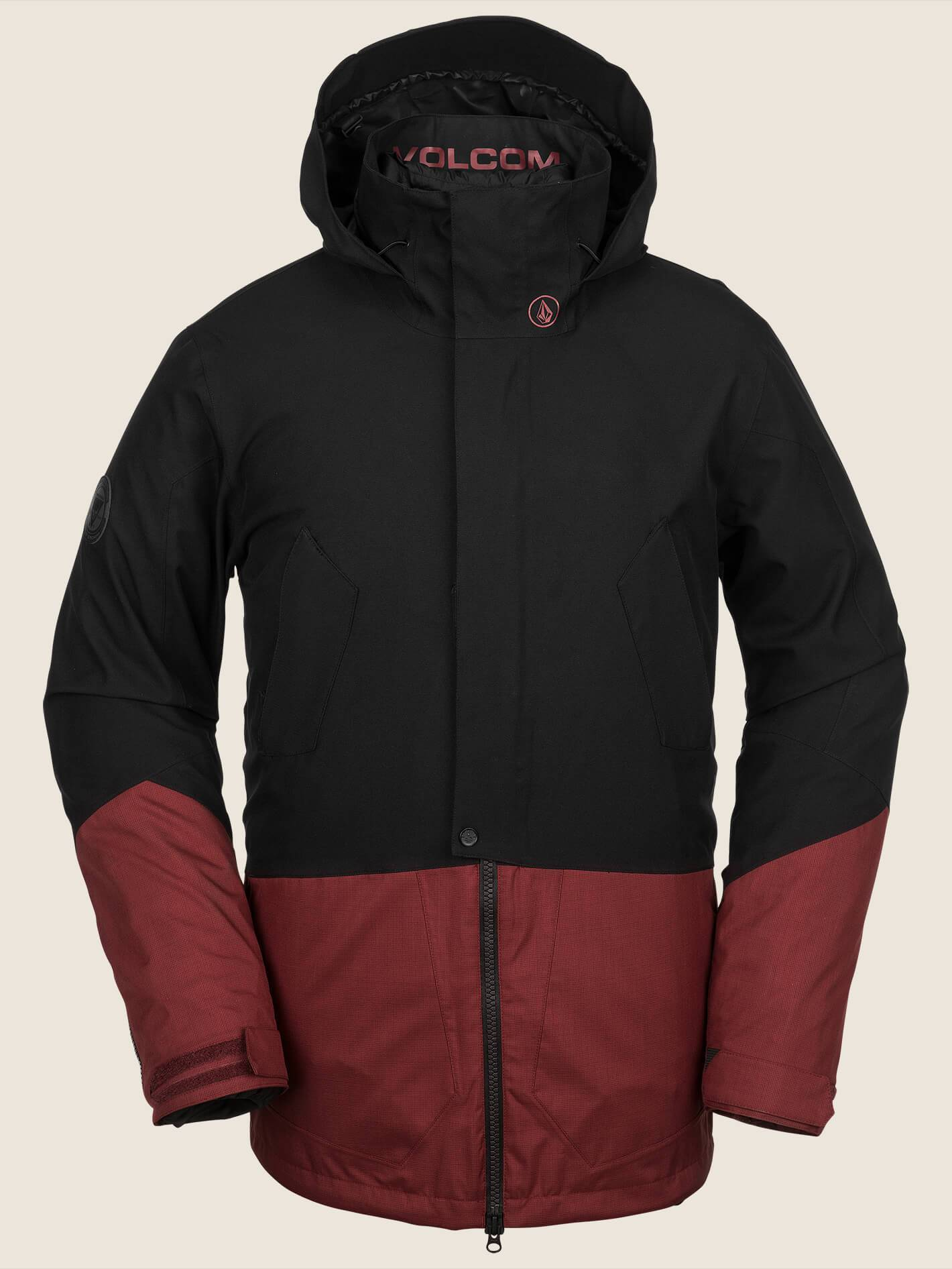 Veste de snow Pat Moore 3-In-1 - Burnt Red