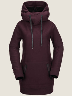 Sweat Riding Hoody - Merlot