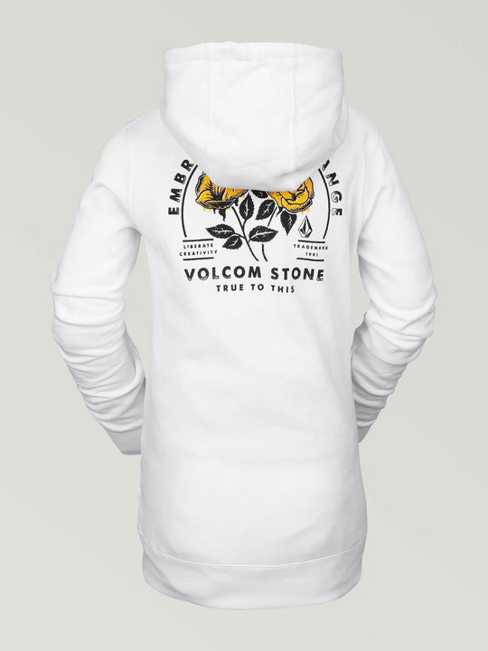 COSTUS P/OVER FLEECE (H2452006_WHT) [B]