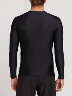 Lycra Lido Solid - Black