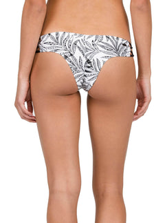 Bas de bikini Leaf Me Alone Cheeky - Black