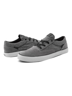 DRAW LO SUEDE SHOE - GREY