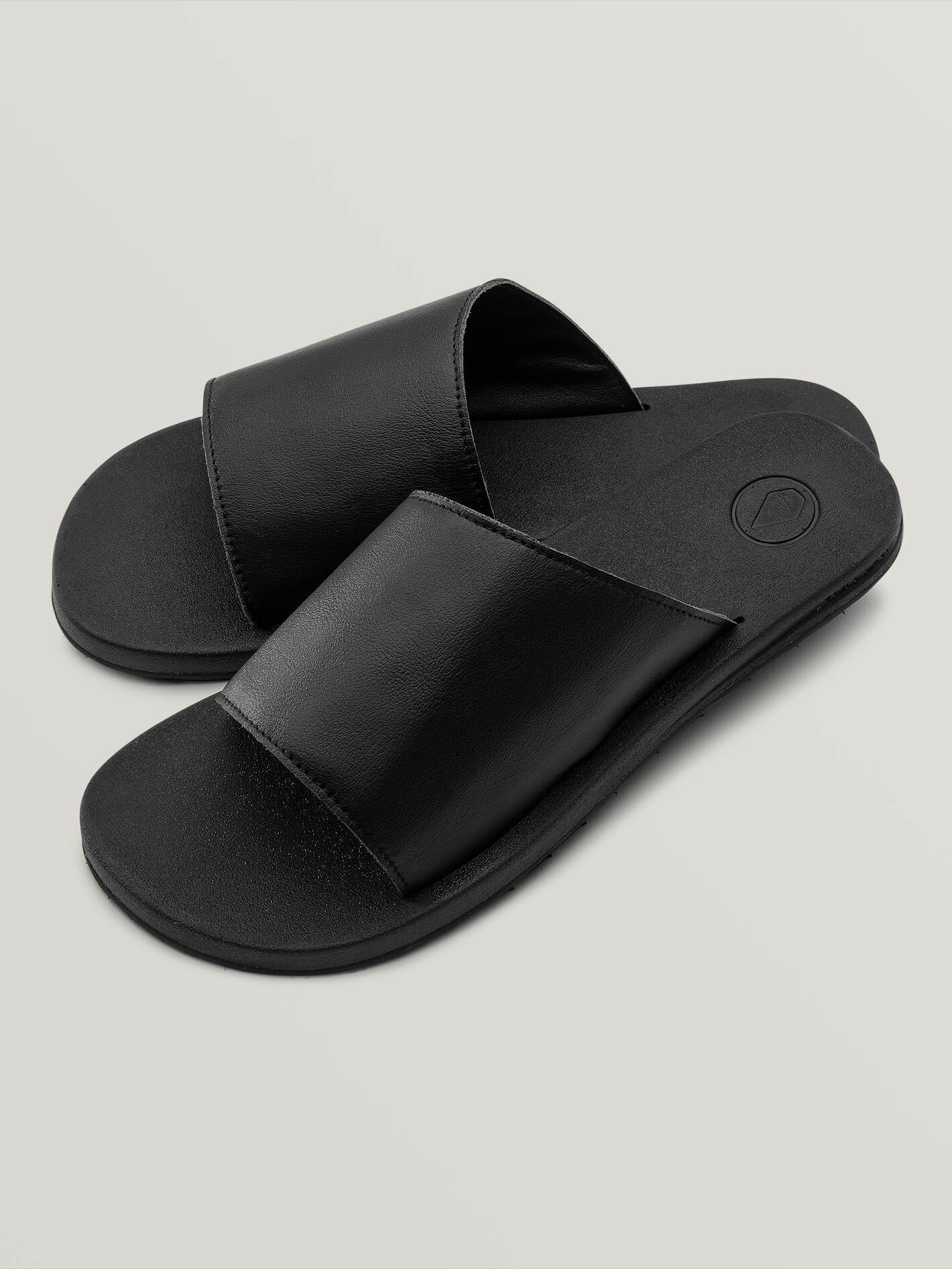Sandales E-Cliner Slide - BLACK OUT
