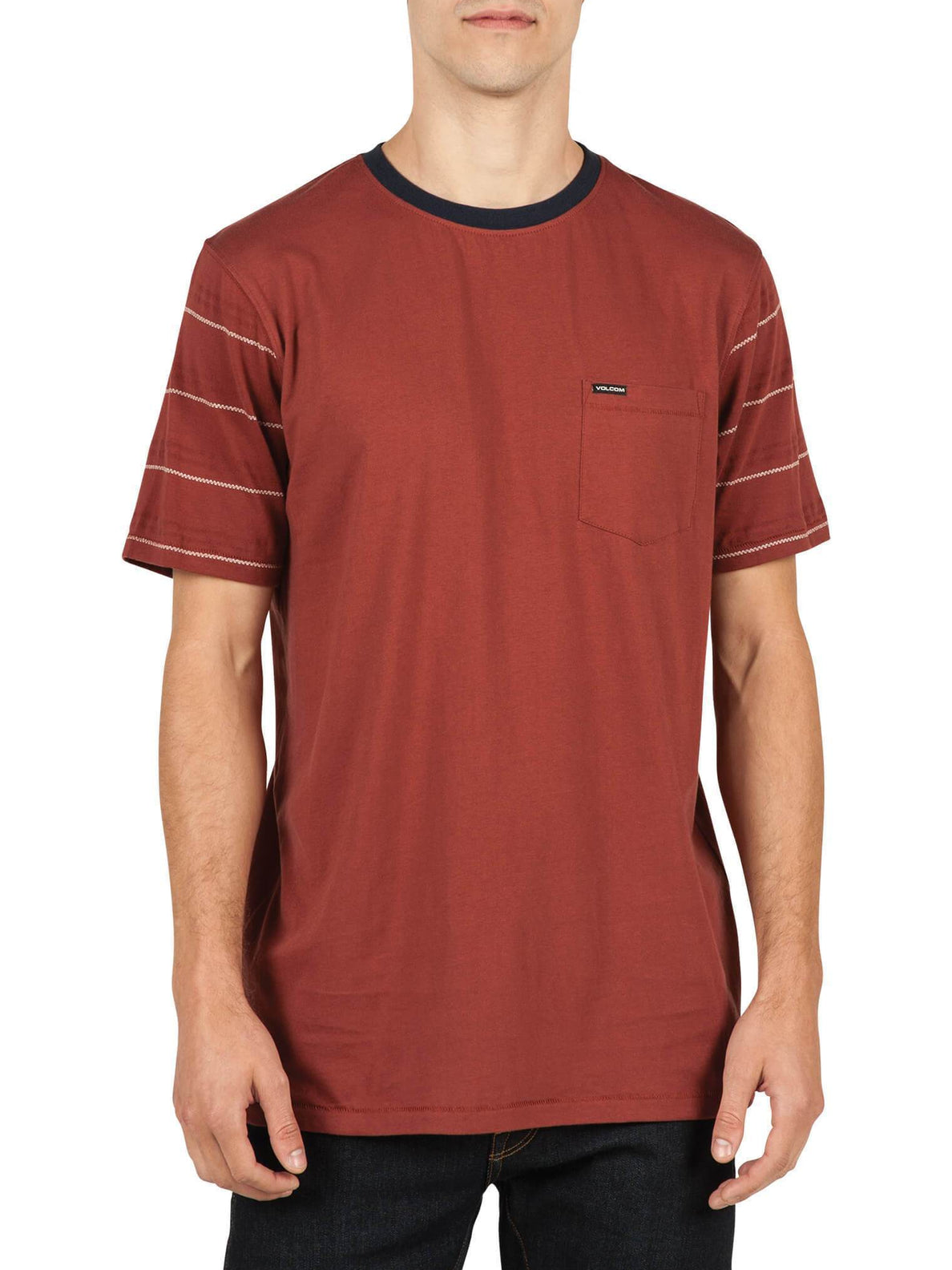 Sutter Crew Tee - Dark Clay