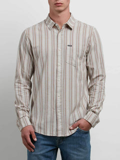Sable Long Sleeve Shirt - Clay