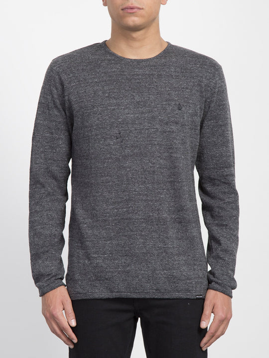 Faine Crew Sweater - Black