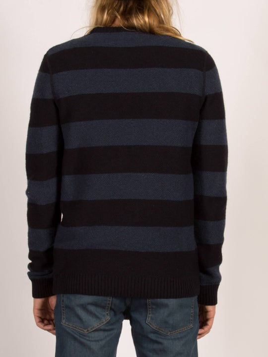 Pullover Stream Striped - Navy