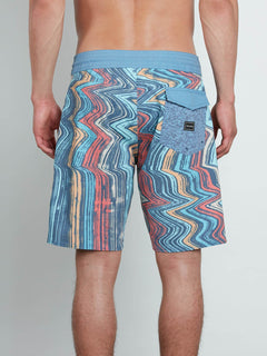 Boardshorts Lo Fi Stoney 19 - Wrecked Indigo