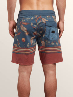 Boardshorts Lucid Stoney 19 - Deep Blue