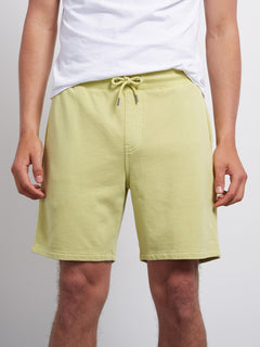 Shorts Case Fleece - Shadow Lime