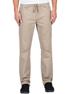 Regular Fit Chino-Hose VSM Gritter - Khaki