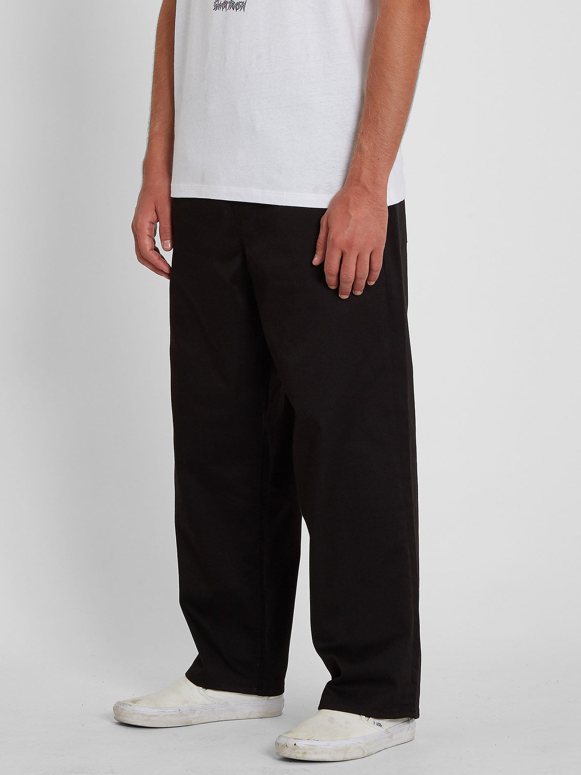 Outer Spaced Solid Pant - BLACK (A1242004_BLK) [1]