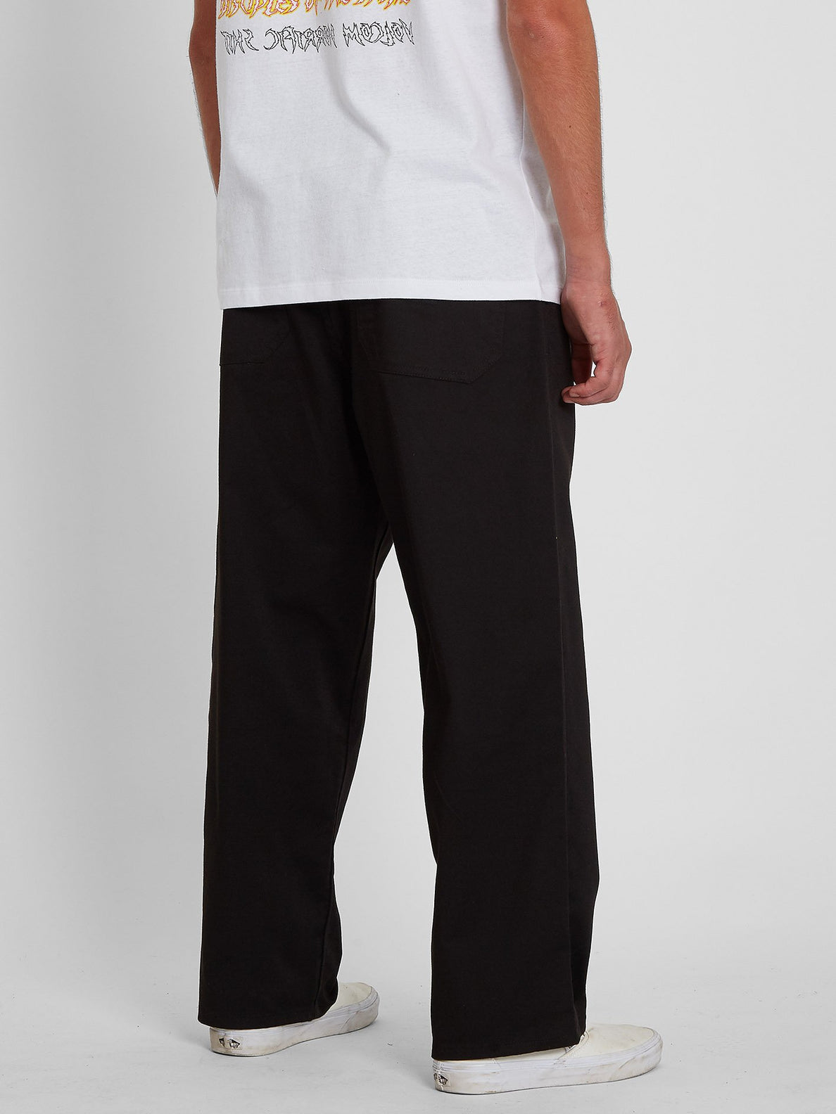 Outer Spaced Solid Pant - BLACK (A1242004_BLK) [2]