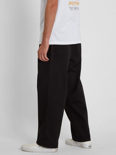 Outer Spaced Solid Pant - BLACK (A1242004_BLK) [3]