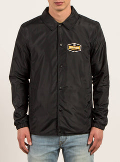Coachjacke Brews - Black
