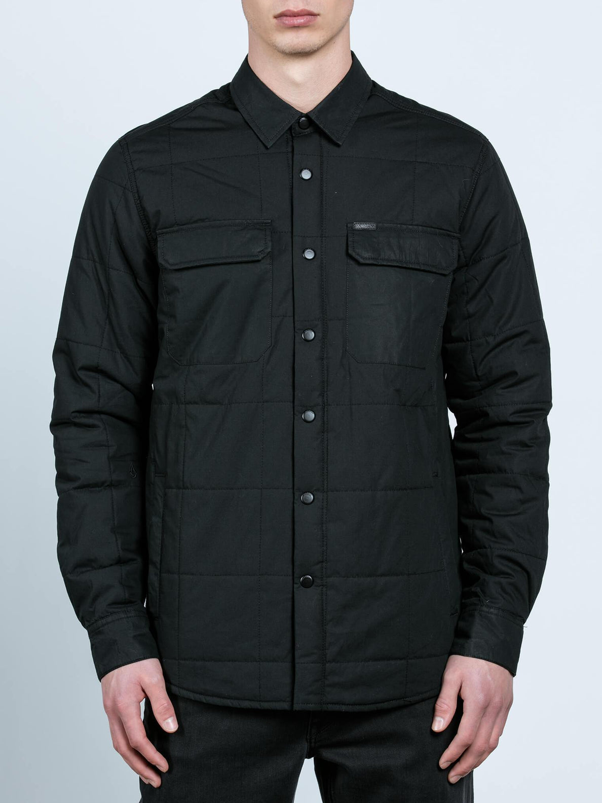 Larkin Quilted - Black