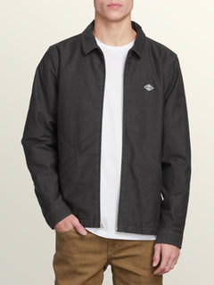 Burkey Lined Jacket - Stealth