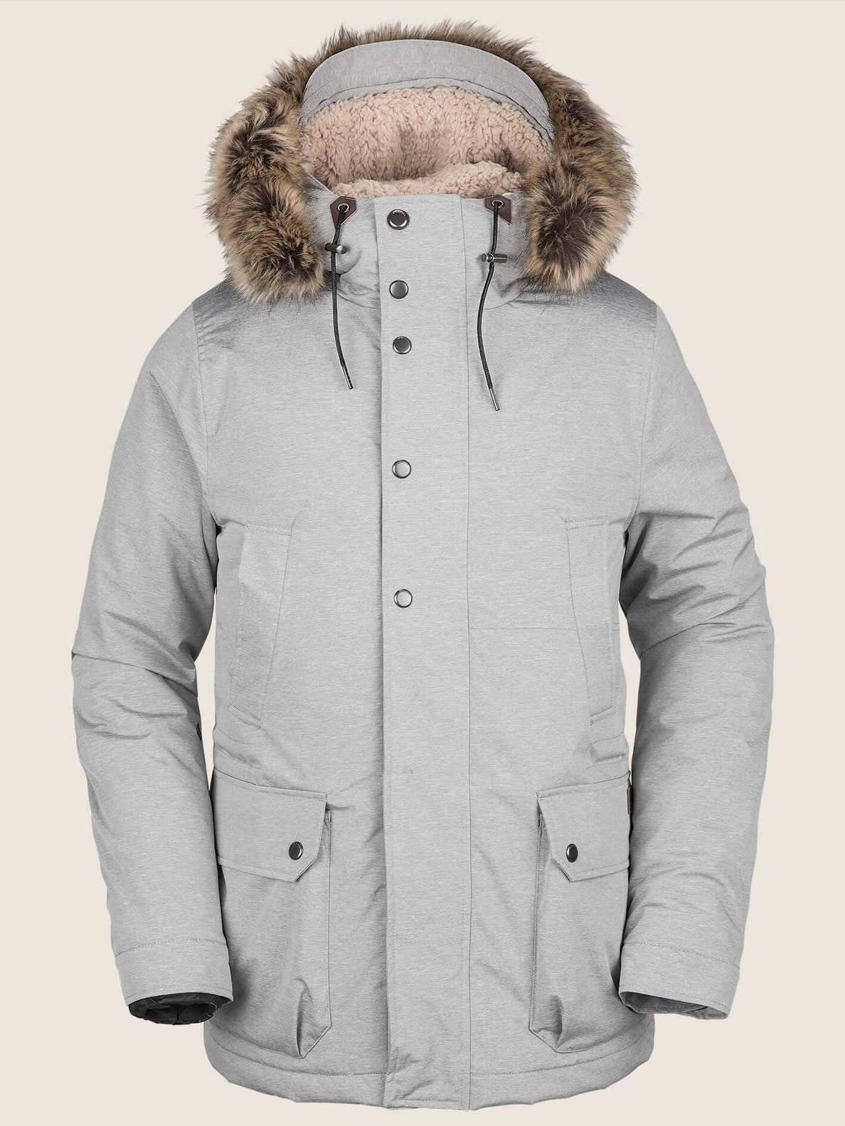 Lidward  Jacke - Heather Black