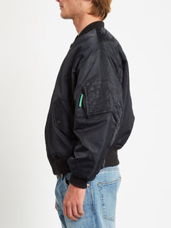 GREENFUZZ JACKET (A1732050_BLK) [1]