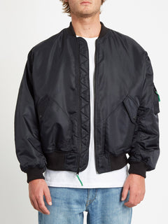 GREENFUZZ JACKET (A1732050_BLK) [2]