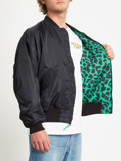 GREENFUZZ JACKET (A1732050_BLK) [4]