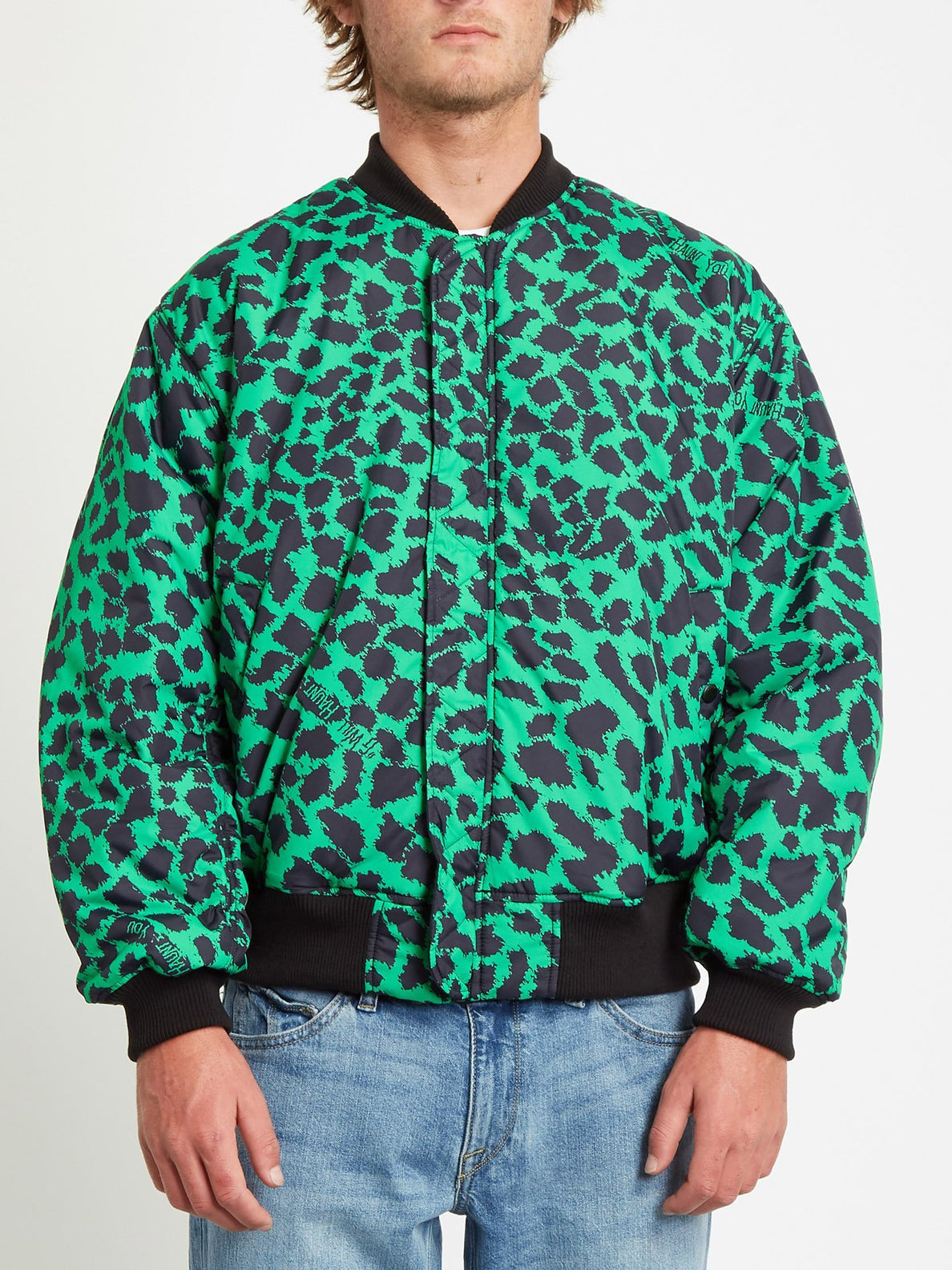 GREENFUZZ JACKET (A1732050_BLK) [7]