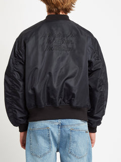 GREENFUZZ JACKET (A1732050_BLK) [B]
