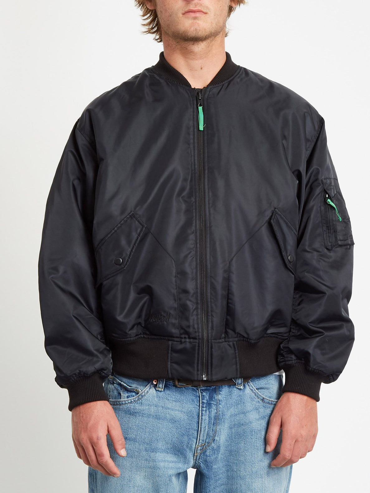 GREENFUZZ JACKET (A1732050_BLK) [F]