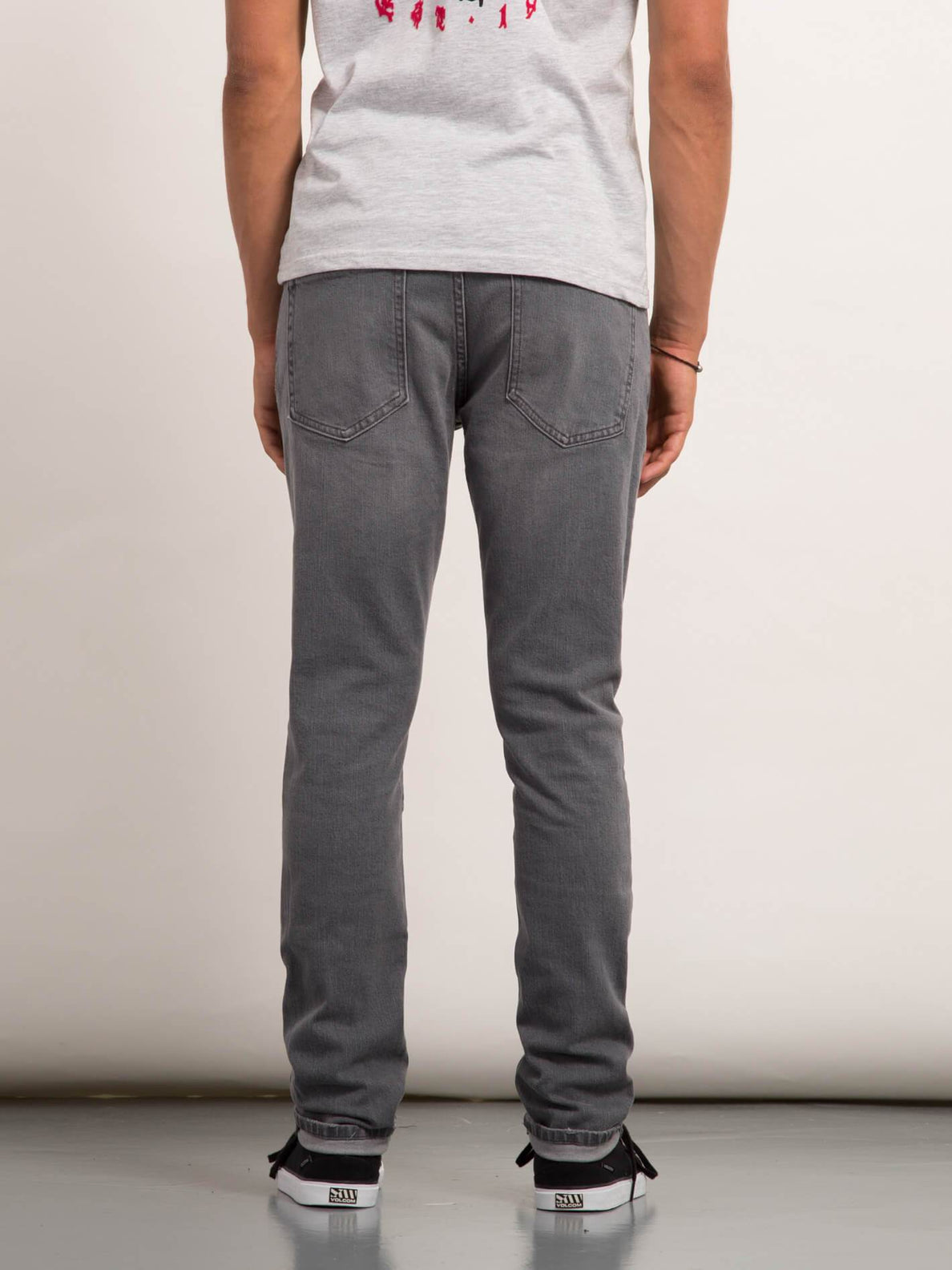 Vorta Tapered Jeans - Cement Grey