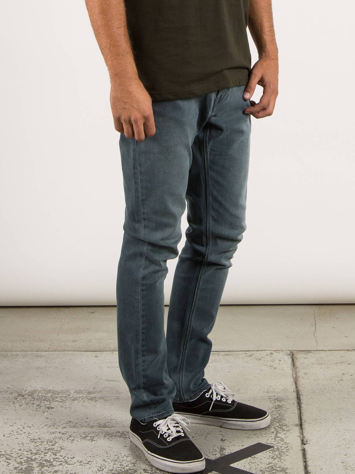 Solver Tapered Jeans - Enlightened Stoned
