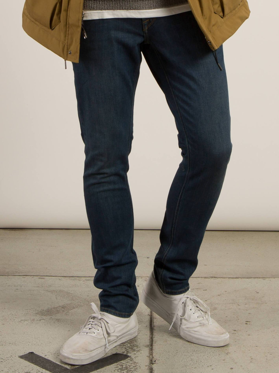 2X4 Tapered Jeans - Dust Bowl Indigo