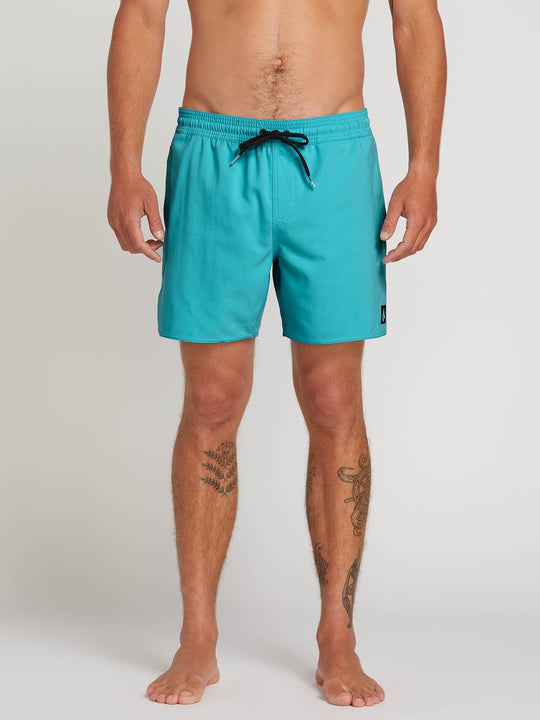 "Lido Trunks 16"" Boardshorts - Cyan Blue"