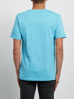 T-Shirt Crisp Basic - Blue Bird