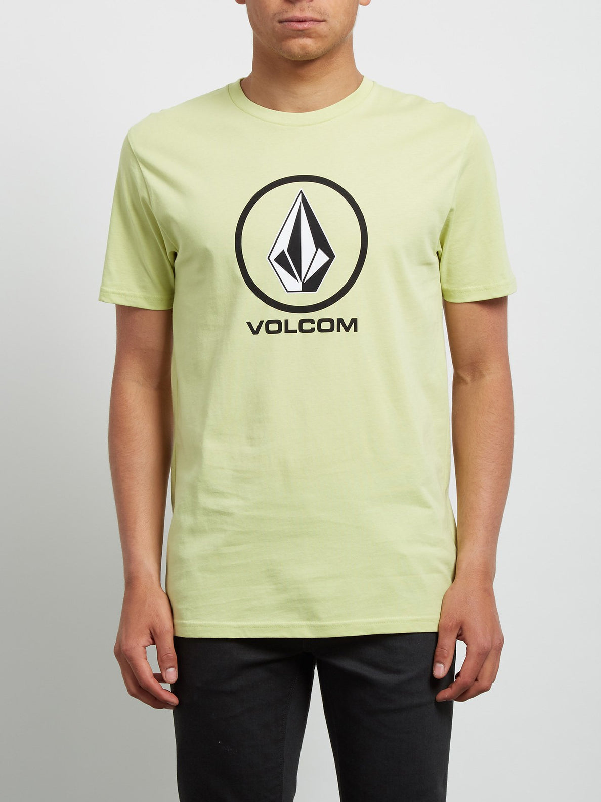 T-Shirt Crisp Basic - Shadow Lime