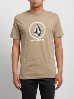 T-Shirt Crisp Basic - Sand Brown