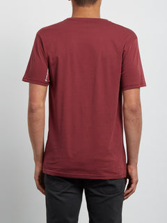 T-Shirt Crisp Euro Basic - Crimson
