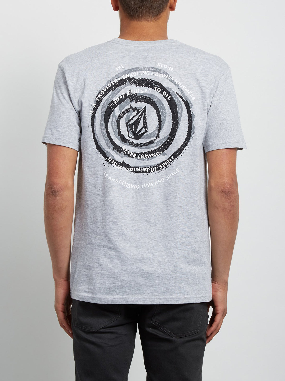 T-Shirt Comes Around Basic - Heather Grey