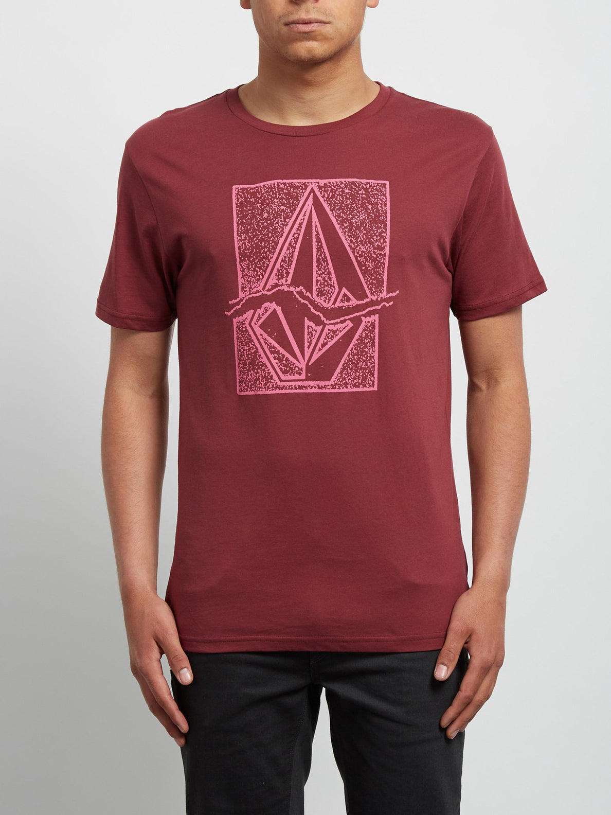 T-Shirt Rip Stone Basic - Crimson