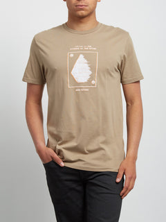 T-Shirt Sound Basic - Sand Brown