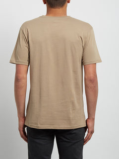 T-Shirt Cristicle Basic - Sand Brown