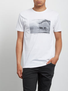 T-Shirt Burch Fom Basic - White