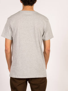 T-Shirt Burnt Basic - Heather Grey