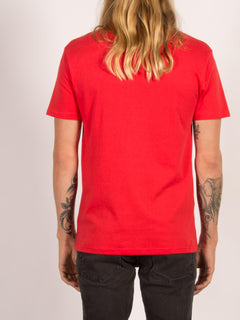 T-Shirt Line Euro Basic - True Red
