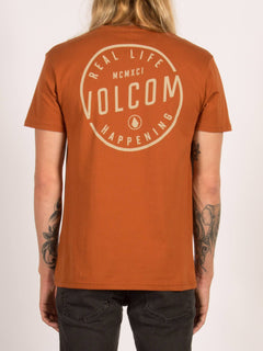 T-Shirt On Lock Basic - Copper