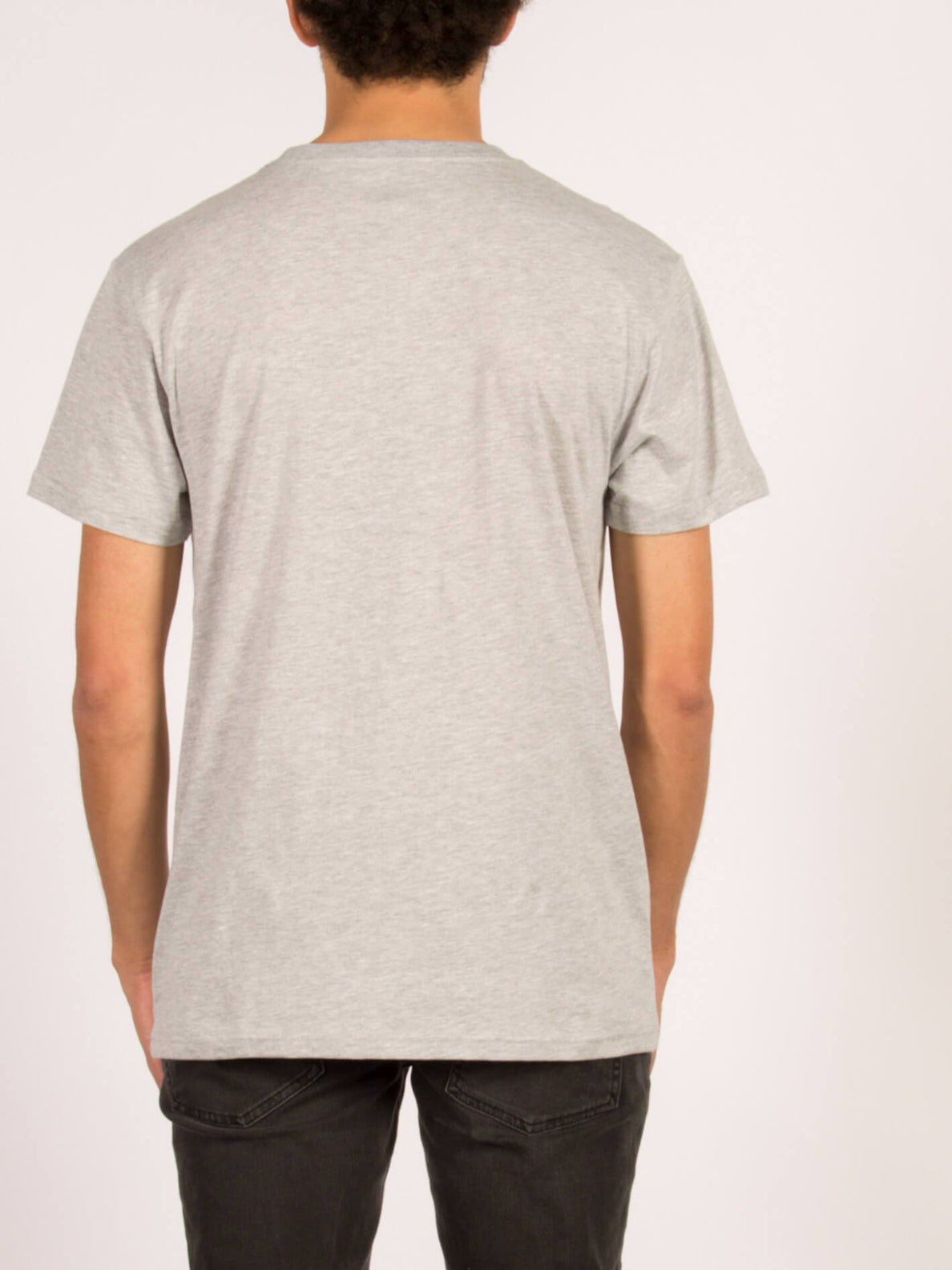 T-Shirt Stone Blank Basic - Heather Grey