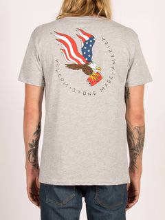T-Shirt Beer Drop Basic - Heather Grey