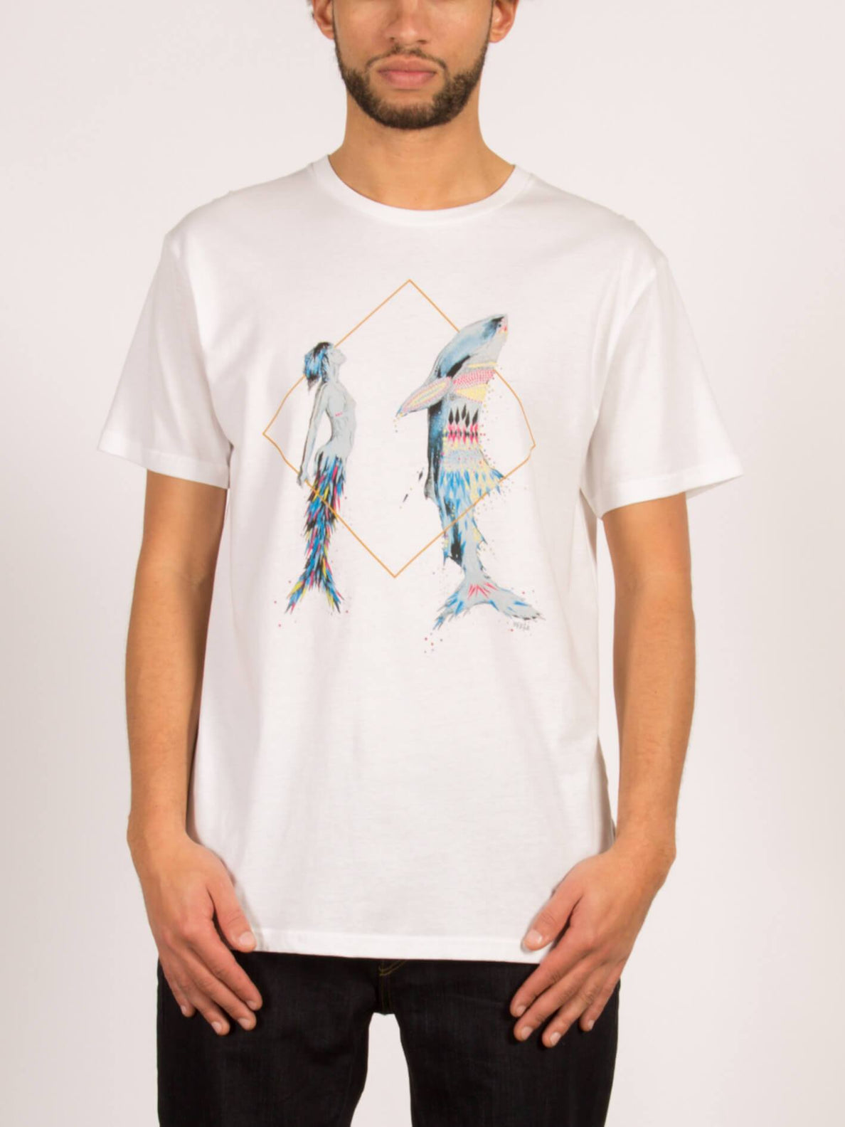 T-Shirt Pangeaseed Vexta - White