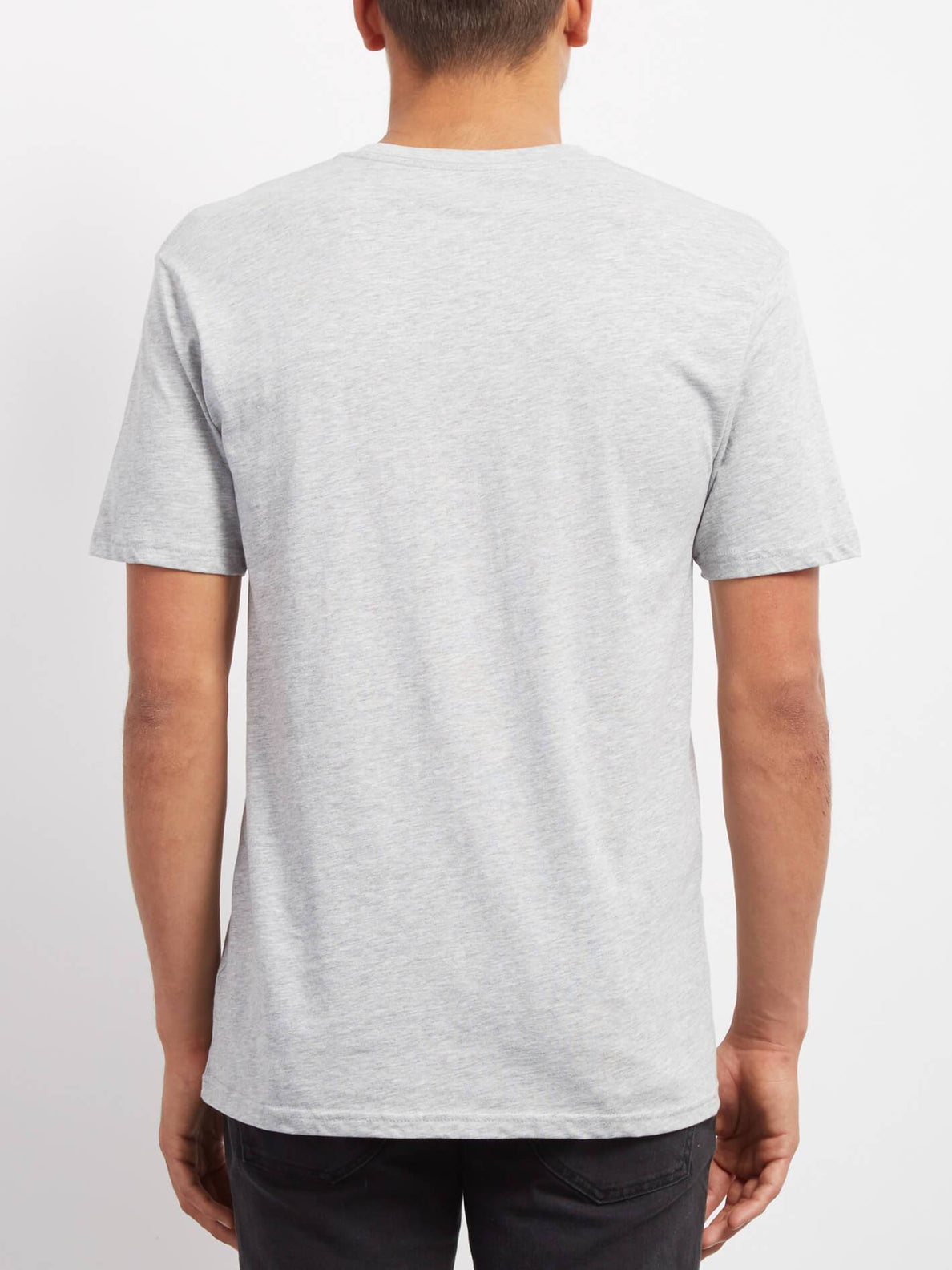 Crisp Euro T-shirt - Heather Grey