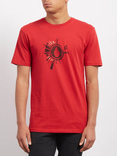 Radiate  T-shirt - Engine Red