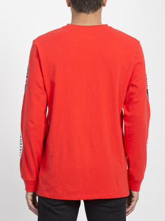 V.I. Boxy T-Shirt - Bright Red